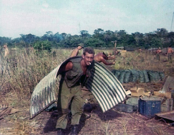 Pete Christian in Vietnam, circa 1968