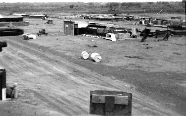 161 Battery positions at Nui Dat, May 1968