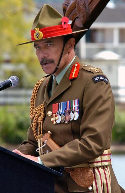 Lieutenant General Jerry Mateparae at Tribute 08