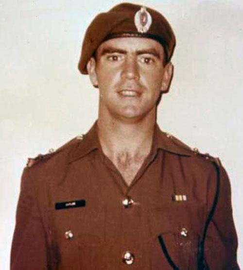Lieutenant James Cutler, 1970