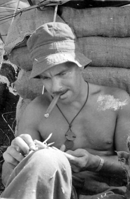 Lieutenant G. D. Stevenson, 161 Battery Section Commander, 1966-1967
