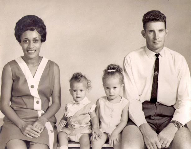 Cpl Joseph Radford and family, 1968