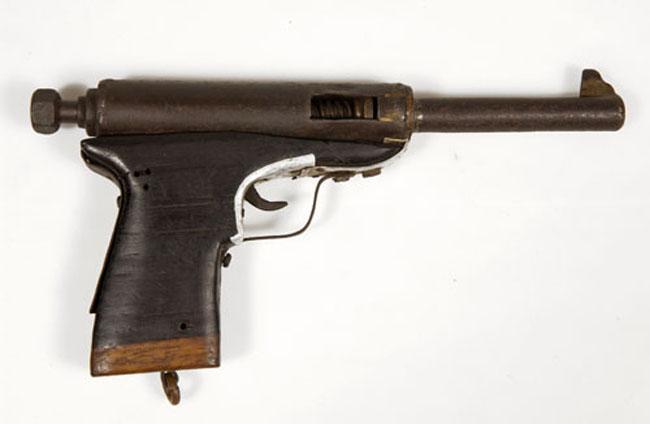 Homemade Viet Cong pistol