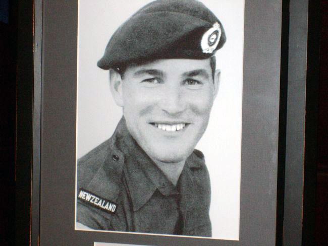 Jack Williams prior to his deployment to Vietnam, 1968