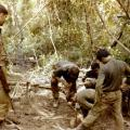 After assault on bunker system, Operation Hermit Park, 1971