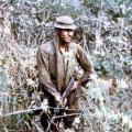 Alan Sherris on patrol, 1971