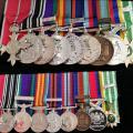 Albert Prendergast's medals