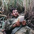 Waiting in ambush area, 1971