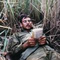 Waiting in ambush area, 1971