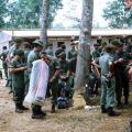 W3 Company soldiers getting ready for leave in Vung Tau