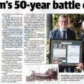 50-year battle for recognition article