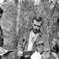 W2 Company soldiers receive their mail