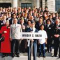 W2 Company veterans at Tribute 08