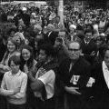 Spectators line the parade route - 161 Battery parade, 12 May 1971