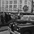 Troops pass review platform - 161 Batter parade, 12 May 1971