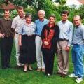 Brian McMahon with his family in 2000.