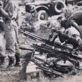 Captured Viet Cong weapons cache