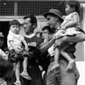 Father Wi and orphans at the An Phong Welfare Centre, 1969