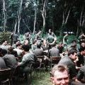 Whiskey 3 Company farewell party, 1970