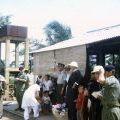 Lt-Col Rob Smith visits Binh Loi orphanage, circa 1967