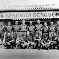 New Zealand Services Medical Team staff at Bong Son, 1970