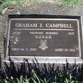 Graham Campbell's grave, 2009