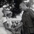 Claire Jacobson meets New Zealand Governor-General, circa 1965-66