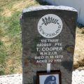 Thomas Cooper's grave, 2008