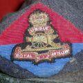Royal New Zealand Artillery beret badge, circa 1966