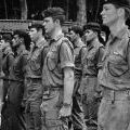 New Zealand soldiers on parade in Vietnam, 1970