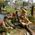 161 Battery gunners taking a breather, 1970