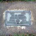 Cecil Fisk's grave