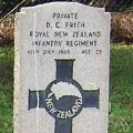 Donald Frith's grave, 2009