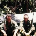 Mike Bradfield and John Westbrook at FSB Cedar, 1968