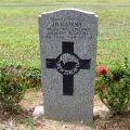 James Gatenby's grave, 2009