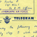 Telegram from Minister of Defence to members of NEWZAD, 1965