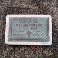 Raymond Hawthorne's grave, 2010