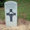 Keith Hurman's grave, 2009