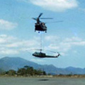 Helicopter recovery at Nui Dat, circa 1970-1971