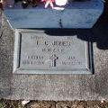 Leonard Jones grave, 2008