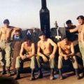 Heta Tobin's gun crew at Nui Dat, Vietnam, 1970