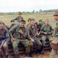 V5 Company soldiers at Kangaroo Pad, Nui Dat