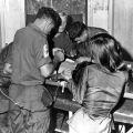 Surgery at Bong Son dispensary, circa 1967