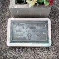 Stanley Kidd's grave, 2008