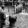 Ceremony at Long Tan Memorial, 1969