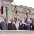 Free World Forces leaders at the Manila Conference, 1966