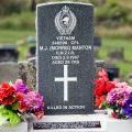 Maurice Manton's grave, 2009