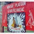 Mortar Platoon, 6RAR/NZ (Anzac) Battalion sign