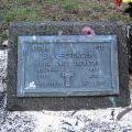 Bryan Petersen's grave, 2009
