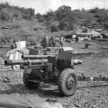 M2A2 Howitzer at the Horseshoe, March 1967